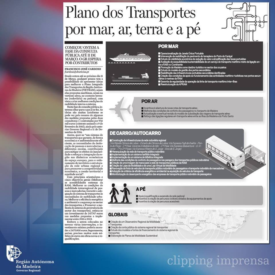 PIETRAM in Jornal da Madeira